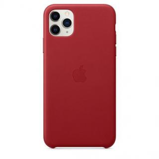 Фото - Apple iPhone 11 Pro Max Leather Case - Red (MX0F2)