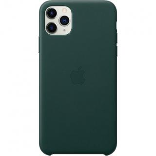 Фото - Apple iPhone 11 Pro Max Leather Case - Forest Green (MX0C2)