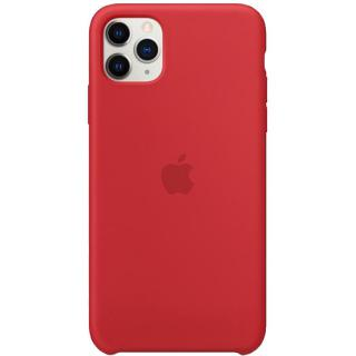Фото - Apple iPhone 11 Pro Max Silicone Case - Red (MWYV2)