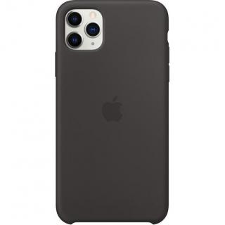 Фото - Apple iPhone 11 Pro Max Silicone Case - Black (MX002)