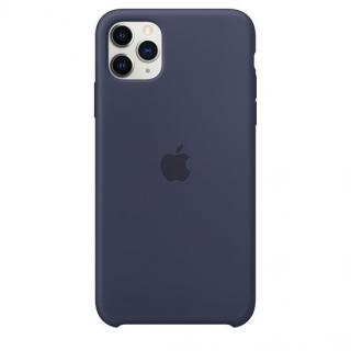 Фото - Apple iPhone 11 Pro Max Silicone Case - Midnight Blue (MWYW2)