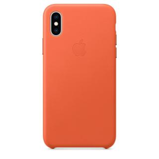 Фото - Apple iPhone XS Leather Case - Sunset (MVFQ2)