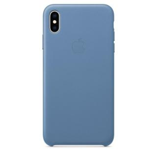 Фото - Apple iPhone XS Max Leather Case - Cornflower (MVFX2)