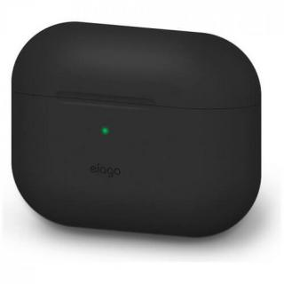 Фото - Elago Original Silicone Case for Airpods Pro Black (EAPPOR-BA-BK)