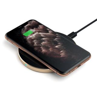 Фото - Satechi Wireless Charging Pad Gold (ST-WCPG)