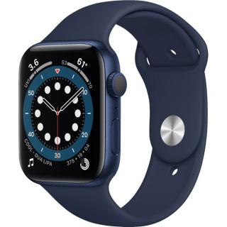Фото - Apple Watch Series 6 GPS 44mm Blue Aluminum Case w. Deep Navy Sport B. (M00J3)