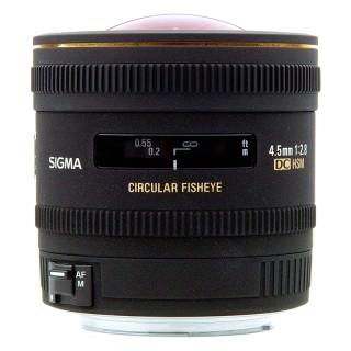 Sigma AF 4.5mm F2.8 EX DC Circular Fisheye HSM for Canon