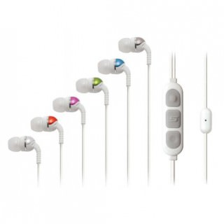 Фото - Scosche IDR355m Increased Dynamic Range Earphones with tapLINE White
