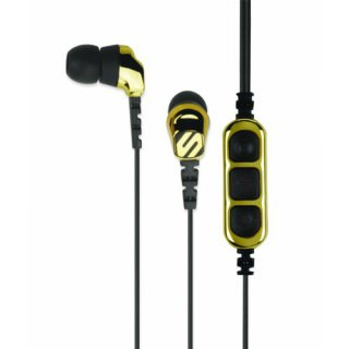Фото - Scosche HP255MDGD Noise Isolation tapLINE II Black/Gold