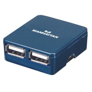 Фото - Manhattan Hi-Speed USB 2.0 Micro Hub 160605