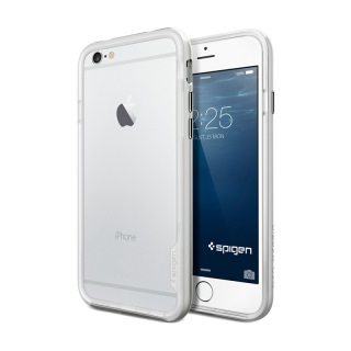 Фото - SGP Case Neo Hybrid EX Series iPhone 6 Satin Silver (SGP11026)