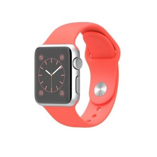Фото - Apple 38mm Silver Aluminum Case with Pink Sport Band (MJ2W2)