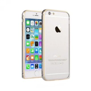 Фото - Devia Buckle Curve Bumper for iPhone 6 Silver