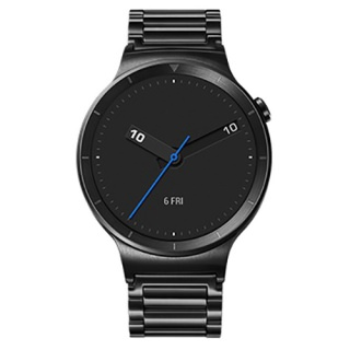 HUAWEI Watch (Black Stainless Steel with Black Stainless Steel Link  Band)