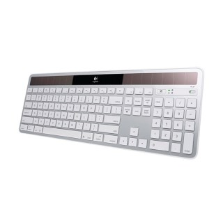 Фото - Logitech Wireless Solar Keyboard K750 White