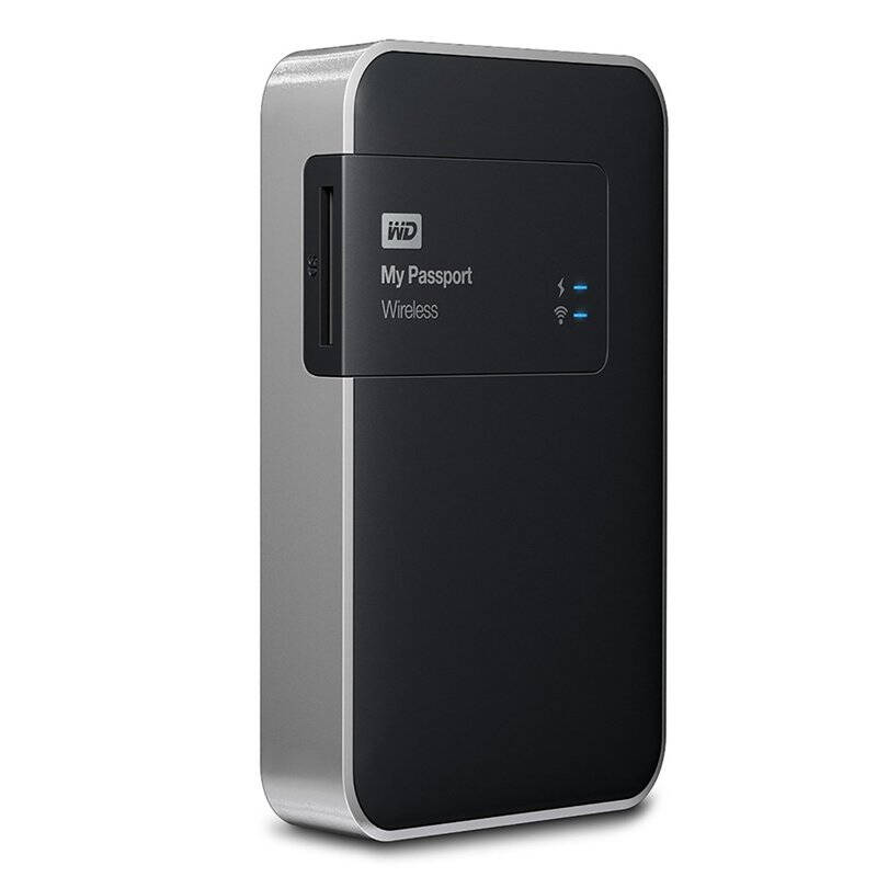 WD My Passport Wireless - внешний hdd