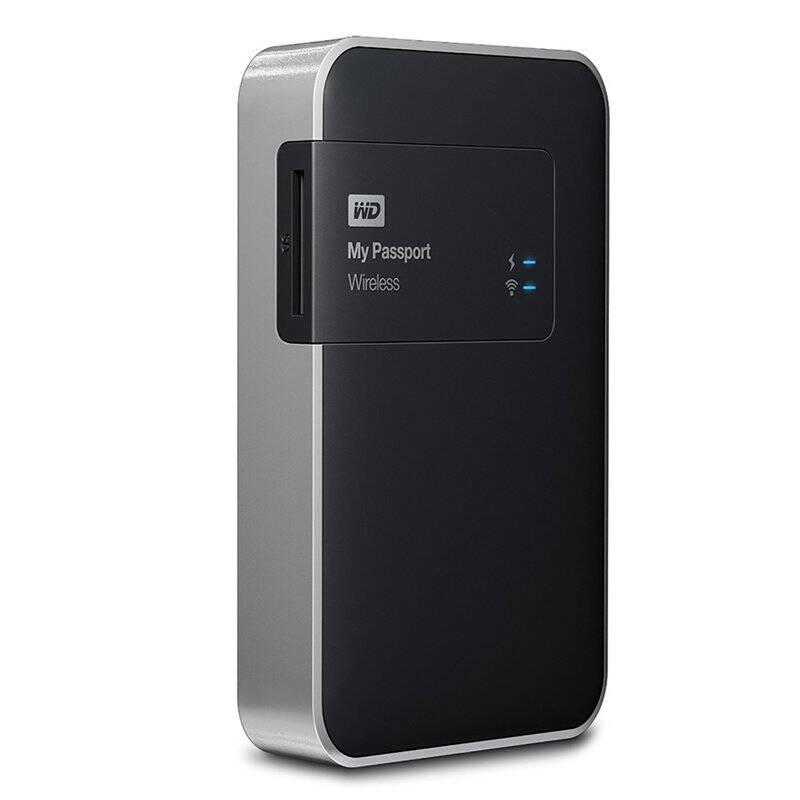 WD My Passport Wireless - внешний hdd