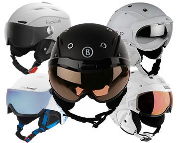 Шлемы с визером
