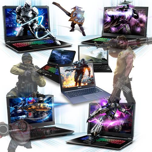 Ноутбуки для игр