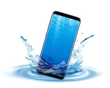 Пыле водонепроницаемый телефон