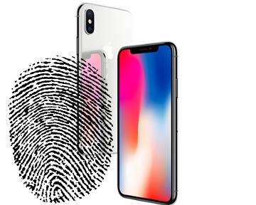 Смартфон со сканером отпечатка пальцев