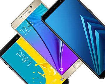 Виды смартфонов Самсунг